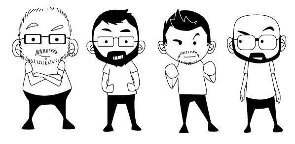 Illustration de l'équipe Squareshop