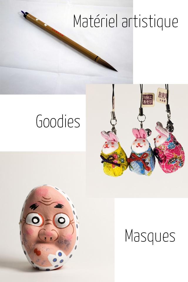 Materie artistique Goodies Masques
