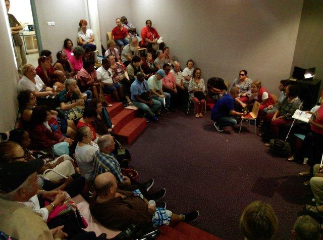 Photo de la rencontre Sons en lumière organisée par le comité Réunion de l'Association Valentin-Haüy