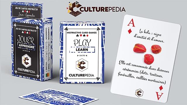 CARTES INSTRUCTLE CULTUREPEDIA INSTRUCTIVE CARD GAMES Lakola JOUER APPRENDRE PLAY LEARN EN/FR est CULTUREPEDUA funcraille diverses CULTUREPEDIA tontines mortuaires) V