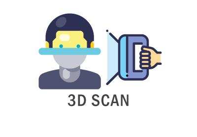 R-LAB 3D scan