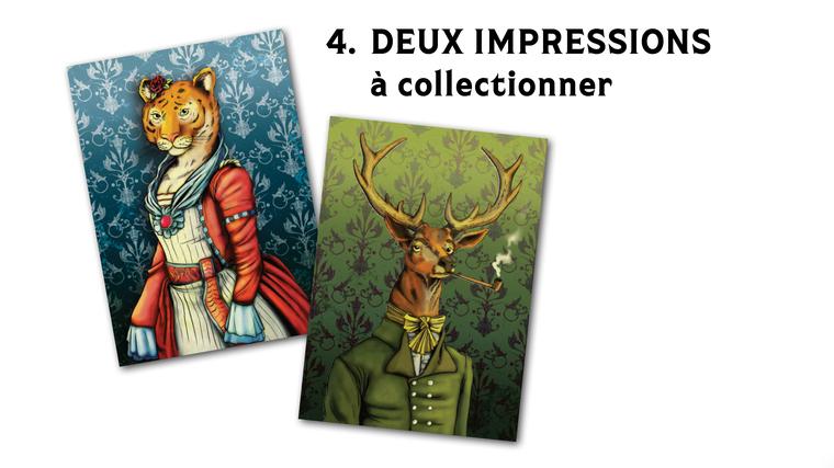 4. DEUX IMPRESSIONS à collectionner