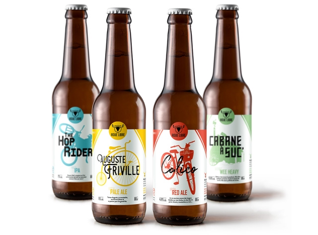 THE ROUE HOP RIDER AUGUSTE PA RIVILLE WEE HEAVY PALE ALE RED ALE
