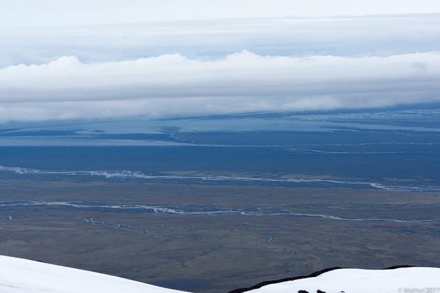 Hvannadalshnjúkur ascension, vue horizon Skaftafell