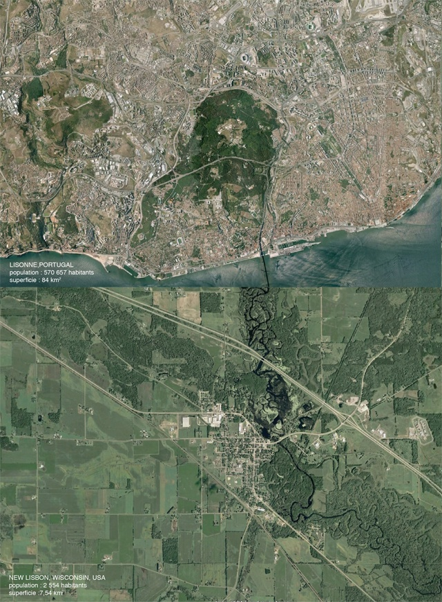 Lisbonne et New Lisbon
