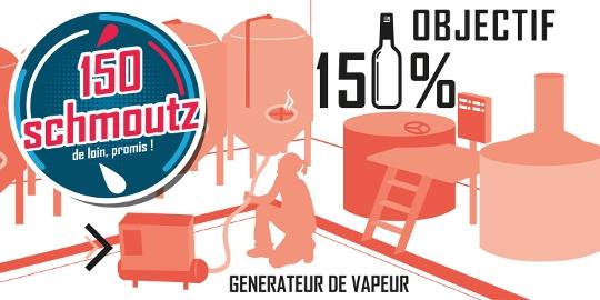 OBJECTIF 150 150% schmoutz GENERATEUR DE VAPEUR