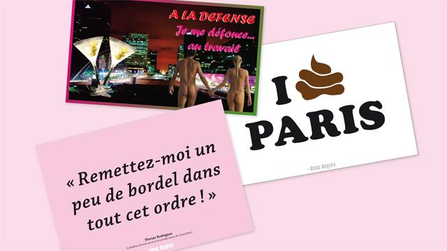 cartes postales deux degrés Petit Paris