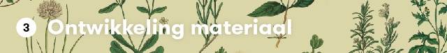 3: Ontwikkeling materiaal