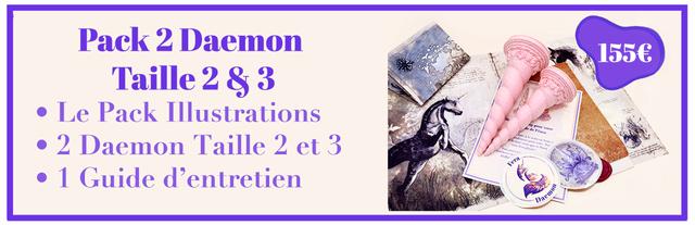 Pack 2 Daemon Taille 2 8 3 Le Pack Illustrations 2 Daemon Taille 2 et 3 1 Guide d'entretien