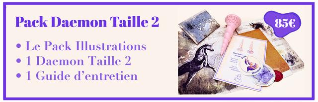 Pack Daemon Taille 2 85€ Le Pack Illustrations 1 Daemon Taille 2 1 Guide d'entretien