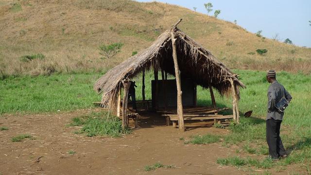 La scuola di comunità di Mfum, villaggio di Fang, Lower Fungom