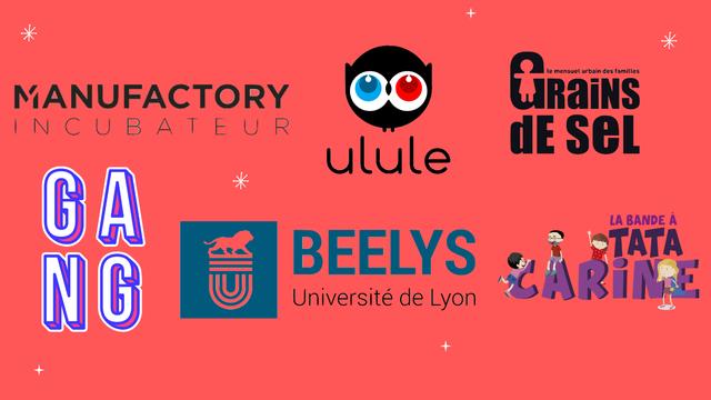 le mensuel urbain des familles MANUFACTORY N C U B A T E U R ulule G LA BANDE A BEELYS Universite de Lyon