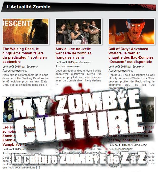 Rencontres en ligne zombies