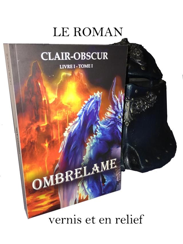 LE ROMAN CLAIR-OBSCUR ME OMBR vernis et en relief
