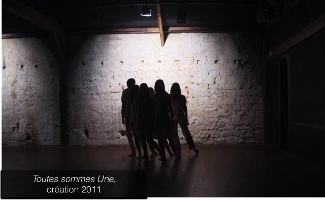 Toutes Sommes Une, création 2011, Bérangère Roussel