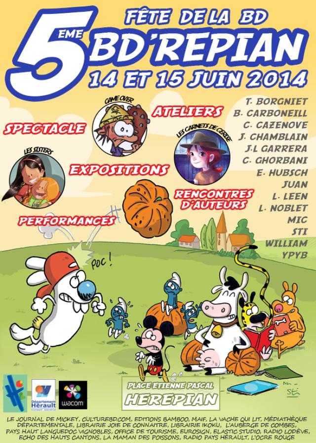 Affiche de l'édition 2014