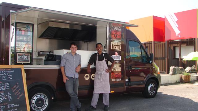 Camion Food Truck Occasion Bateau Guillaume Le Conquerent
