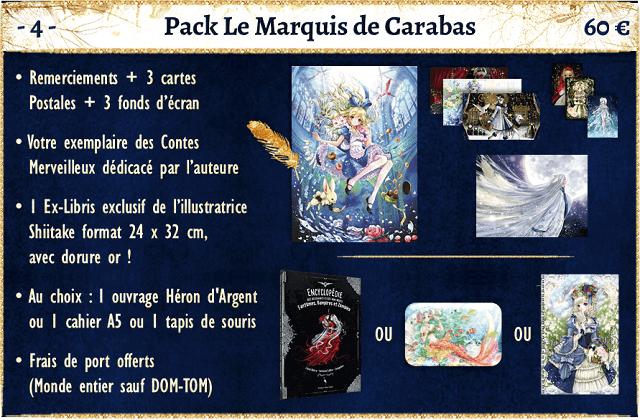 pack le marquis de carabas  - shiitake - crowdfunding ulule