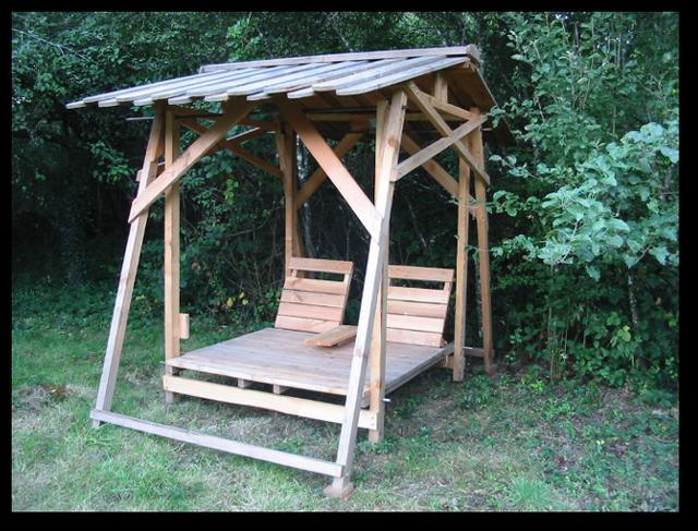 balancelle paradis balancelle bois jardin with balancelle paradis fabulous fair coussin. Black Bedroom Furniture Sets. Home Design Ideas