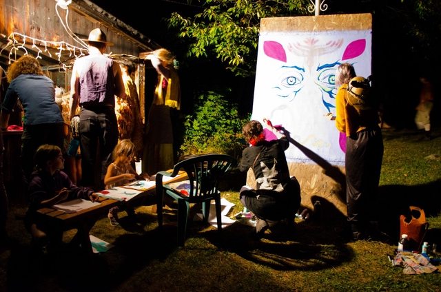 Peinture collective Painting