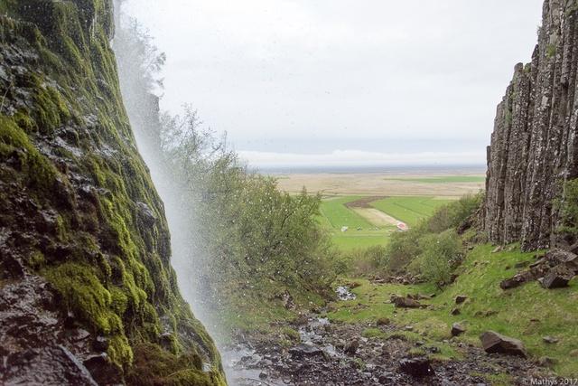 Islande Svínafell, campement cascade, guide de montagne Skaftafell alpinisme