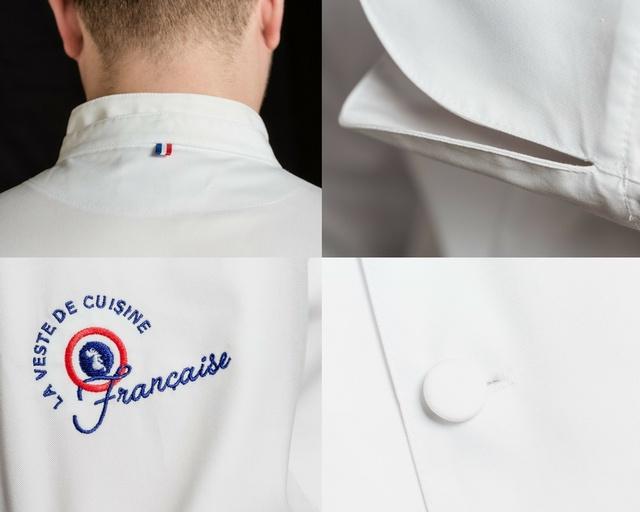 La Veste De Cuisine Française Ulule - Broderie veste de cuisine