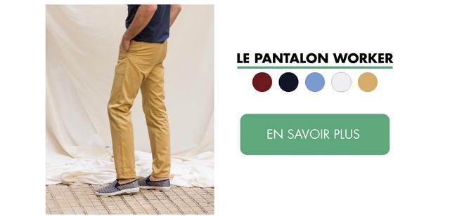 LE PANTALON WORKER EN SAVOIR PLUS