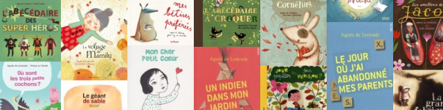 Agnès de Lestrade, livres