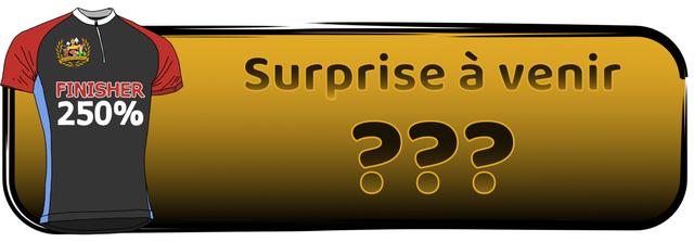 Surprise venir FINISHER 250%