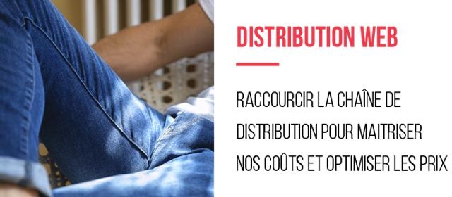 DISTRIBUTION WEB RACCOURCIR LA CHAINE DE DISTRIBUTION POUR MAITRISER NOS COUTS ET OPTIMISER LES PRIX