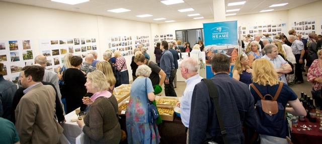 Vernissage de l'exposition 2018 à Faversham (GB)