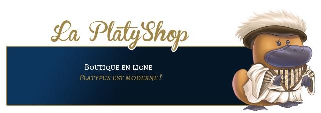 La Platy'Shop 9 BOUTIQUE EN LIGNE PLATYPUS EST MODERNE