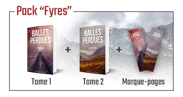 """Pack """"Fyres' BALLES BALLES PERDUES PERDUES Tome Tome 2 Marque-pages"""