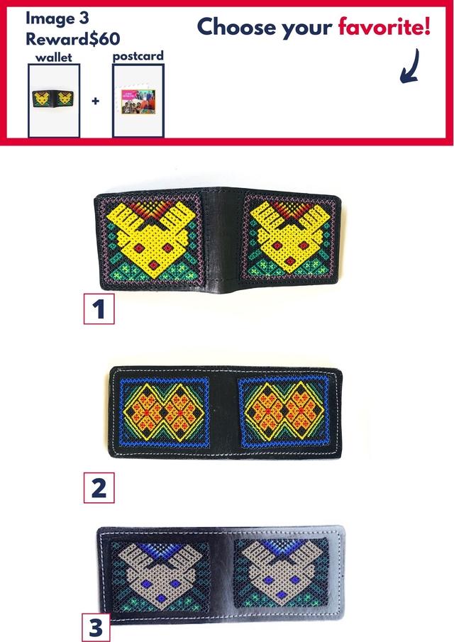 Image 3 Reward $60 Choose your favorite! wallet postcard + 2 3