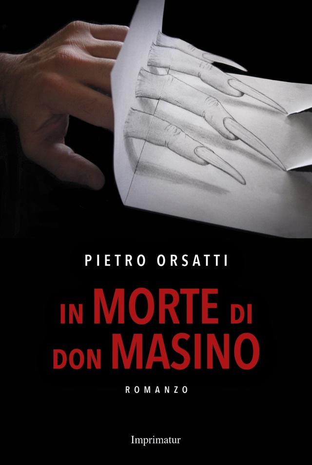 """La copertina di """"In morte di don Masino"""" pubblicato da Imprimatur editore nel 2016"""