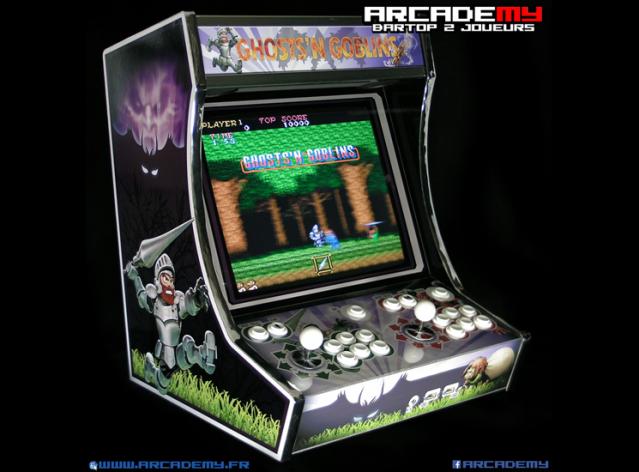 borne arcade annee 80
