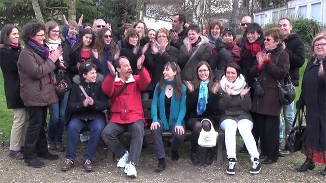 Image de la vidéo de la création de la communauté d'Aila