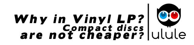 Oui mais pourquoi des vinyles, les CD c'est moins cher ?