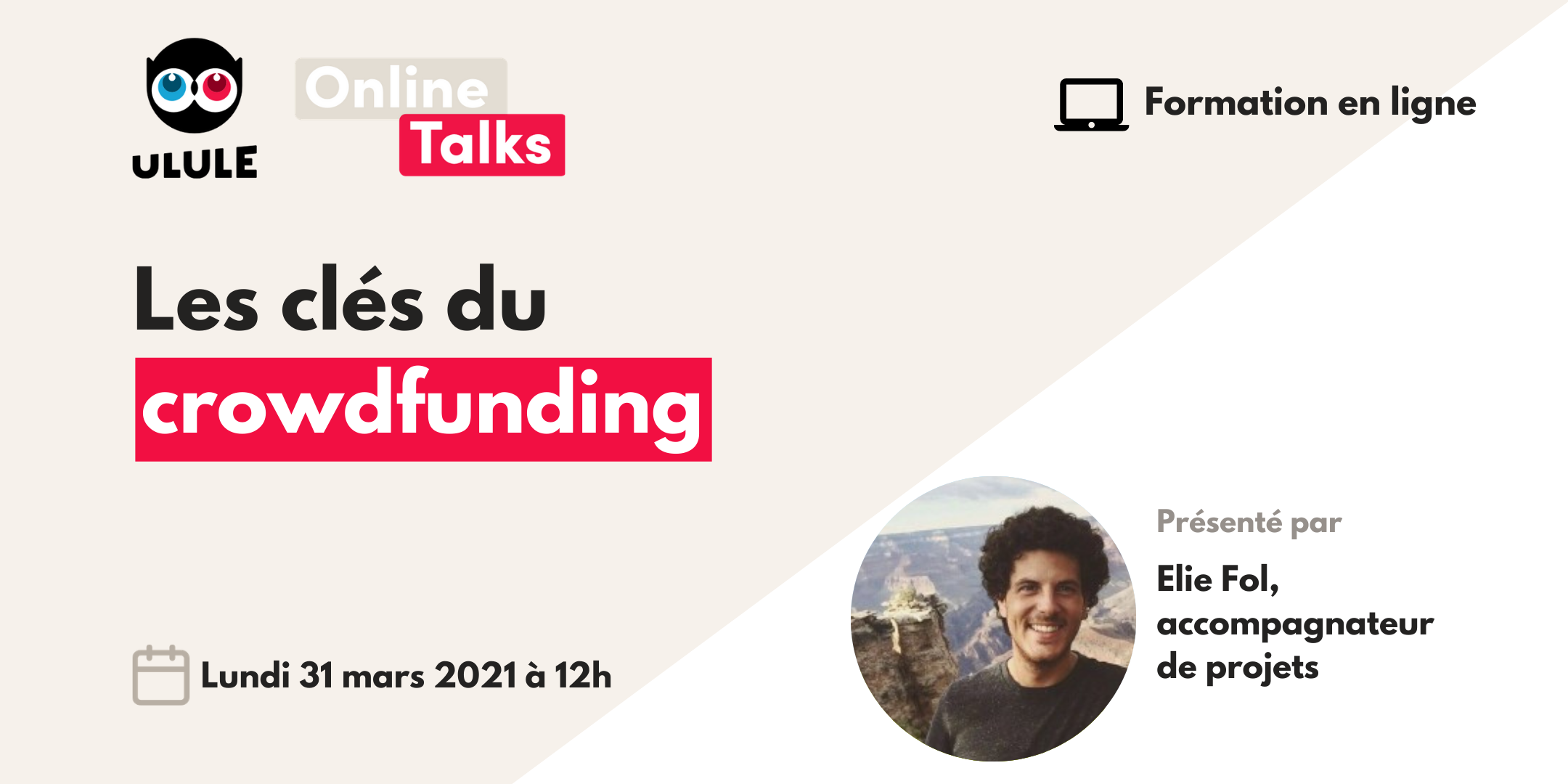 Webinaire crowdfunding - Mercredi 31 mars à 12h