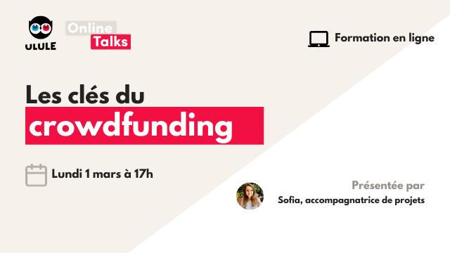 Webinaire crowdfunding - Lundi 1 mars à 17h