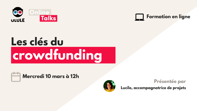 Webinaire crowdfunding - Mercredi 10 mars à 12h