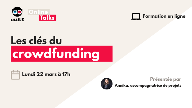 Webinaire crowdfunding - Lundi 22 mars à 17h