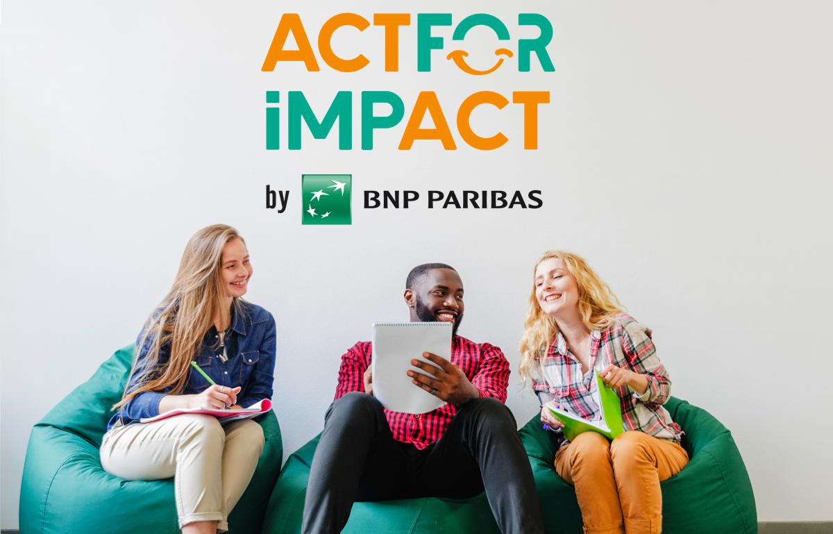 3 nouveaux lauréats #ActForImpact
